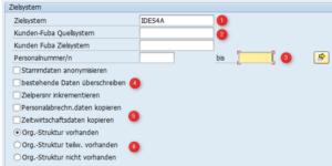 Weitere Funktionen SAP Personalnummernkopierer