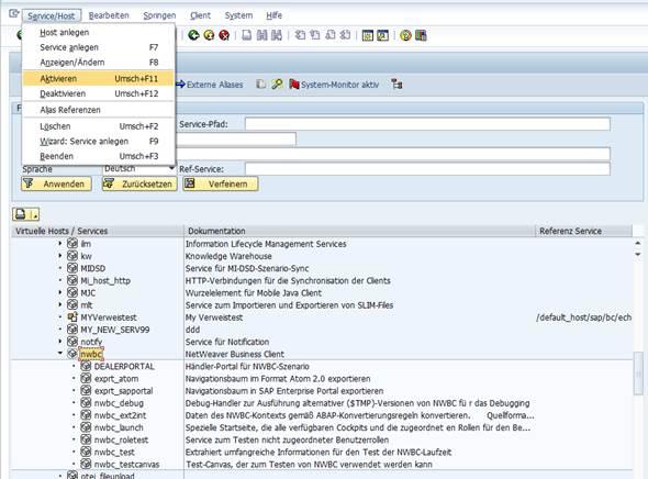 HowTo: SAP NetWeaver Business Client aktivieren