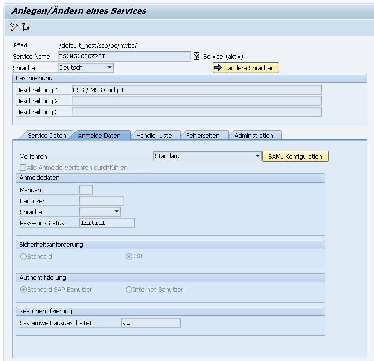 Eigenes ESS/MSS NWBC Cockpit - ActivateHR - Das SAP HR Blog
