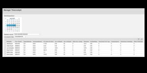 OADP und SAP Fiori - Manager Timecockpit