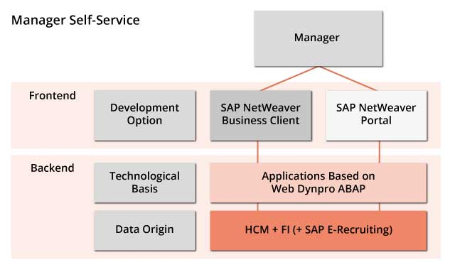 Im Überblick: SAP Manager Self Service (MSS)