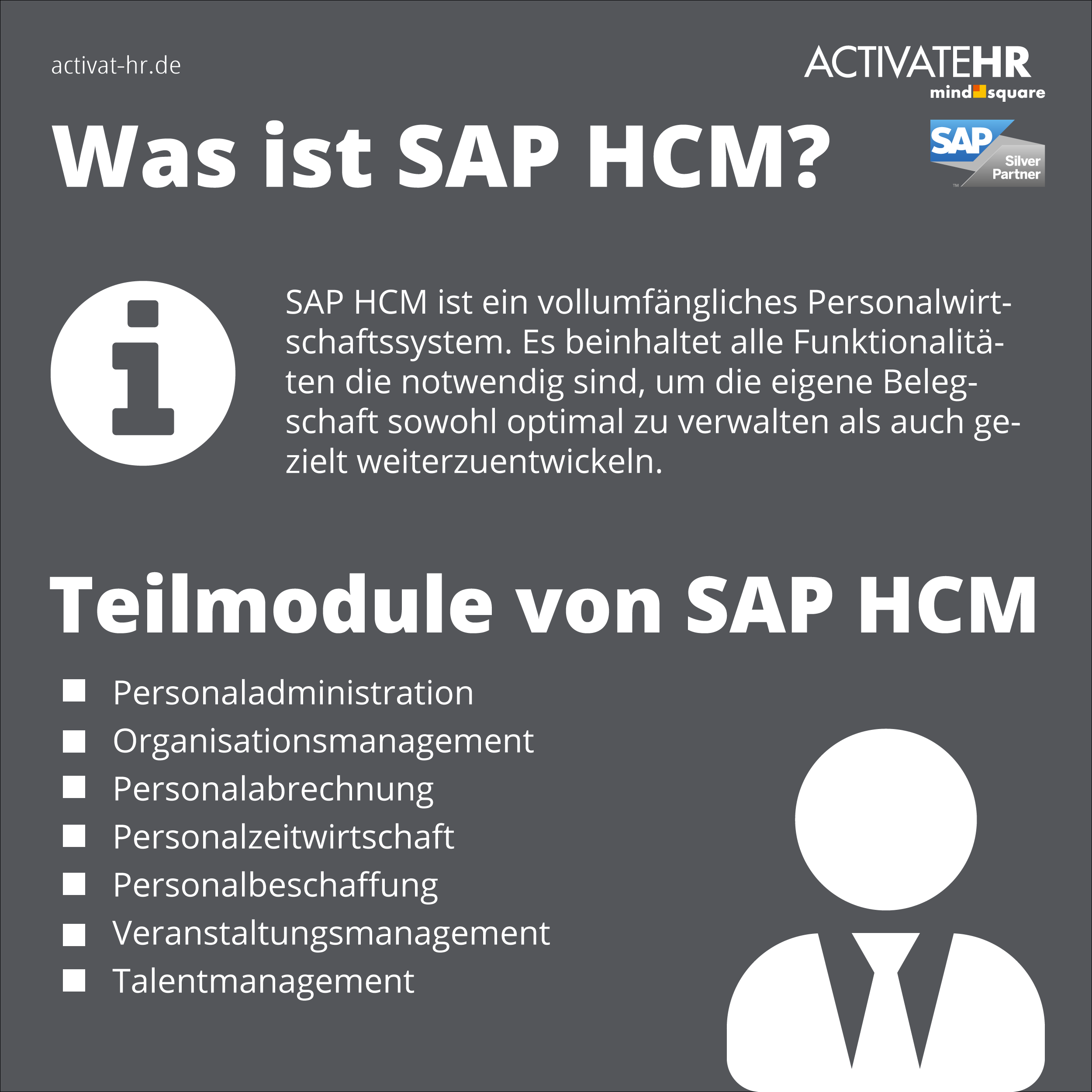 Was ist SAP HCM?