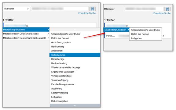 Launchpad in der webbasierten Stammdatenpflege