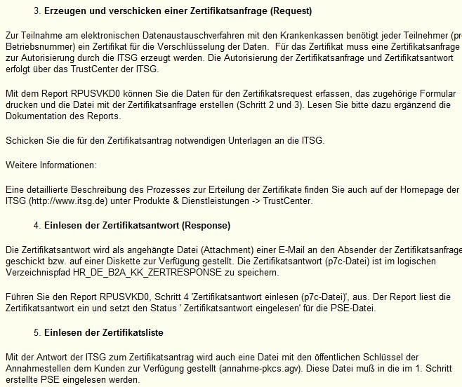 Erzeugen von Zertifikaten für B2A Manager