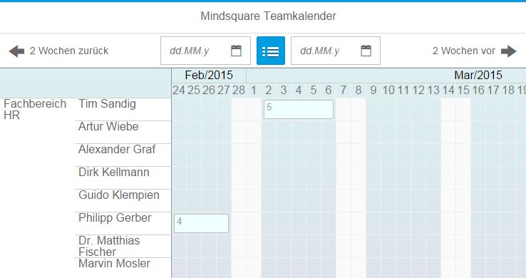 Teamkalender als eigenständiges ESS-Szenario - Kollegen sehen keine Abwesenheitsgründe
