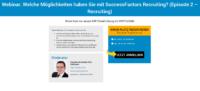 Webinar SuccessFactors Recruiting.
