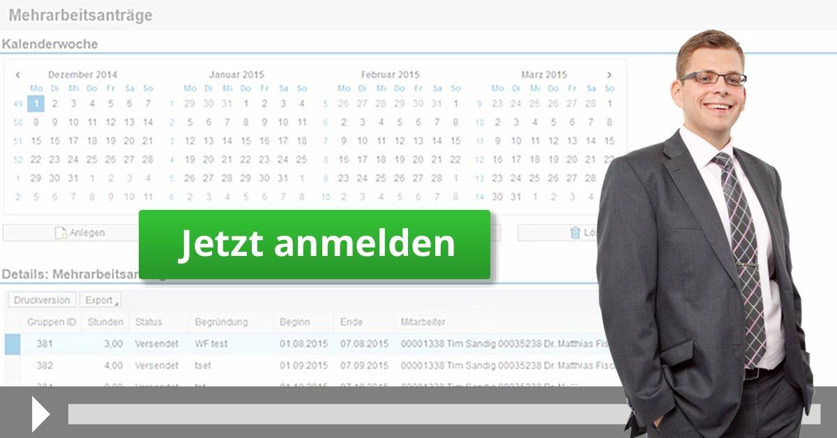 SAP ESS/MSS Mehrarbeitsantrag automatisieren
