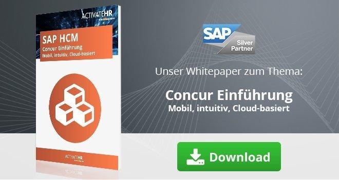 SAP HCM Concur Einführung