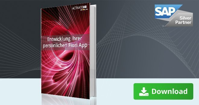Fiori App Entwicklung