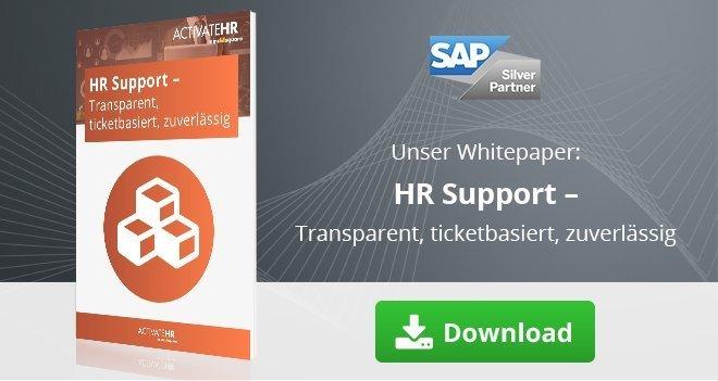HR Support - Transparent, ticketbasiert