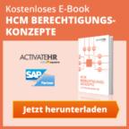 SAP Berechtigungen E-Book