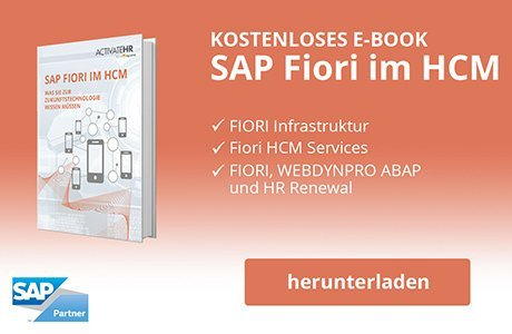 SAP Fiori im HCM E-Book
