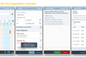 Fiori Teamkalender Features
