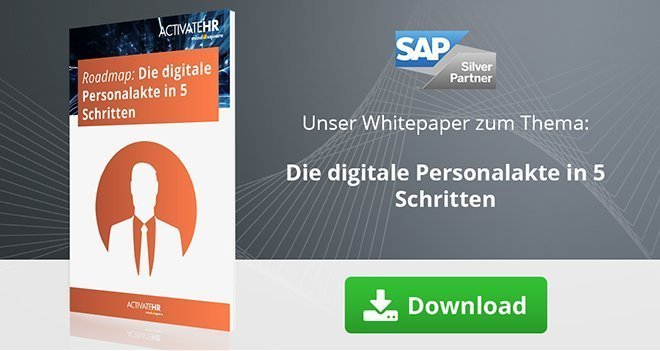 Digitale Personalakte in 5 Schritten