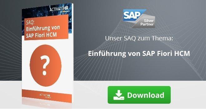 SAQ: Einführung von SAP Fiori HCM