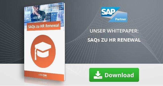 SAQs zu HR Renewal