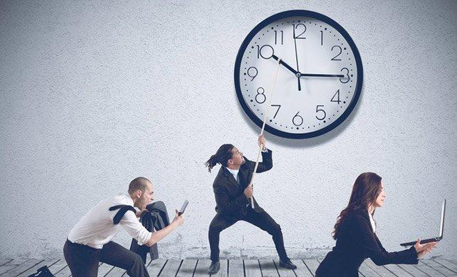 Zeitbuchungkorrektur