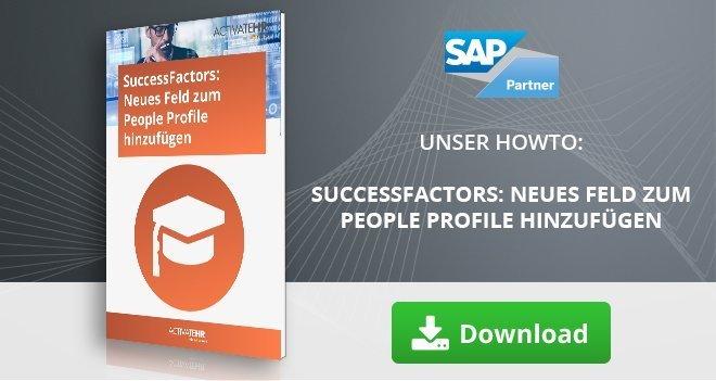 SuccessFactors_ Neues Feld zum People Profile hinzufügen
