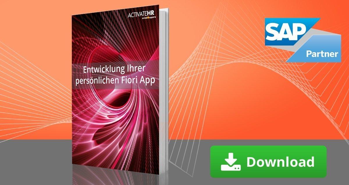E-Book Entwicklung ihrer persönlichen Fiori App
