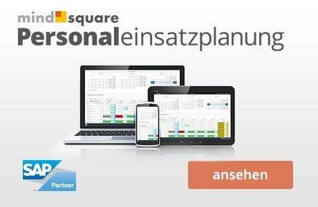 mindsquare Personaleinsatzplanung mit SAP