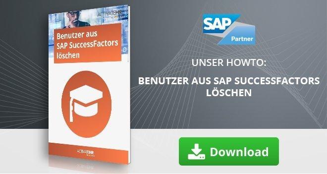 Benutzer aus SAP SuccessFactors löschen