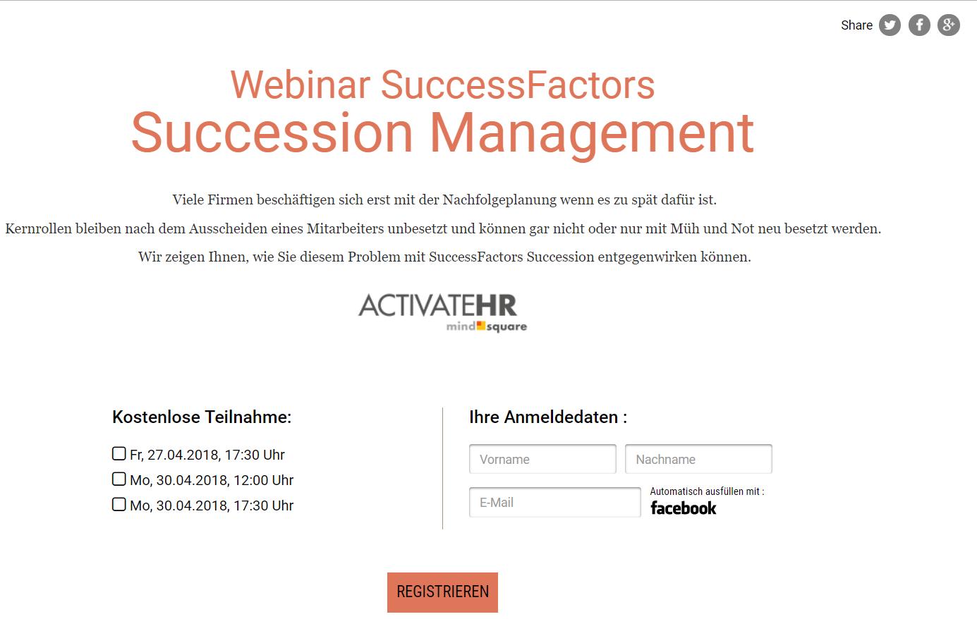 successfactors succession management