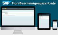 SAP Fiori Bescheinigungszentrale