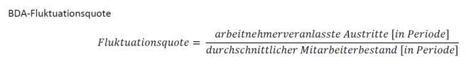 BDA-Fluktuationsquote