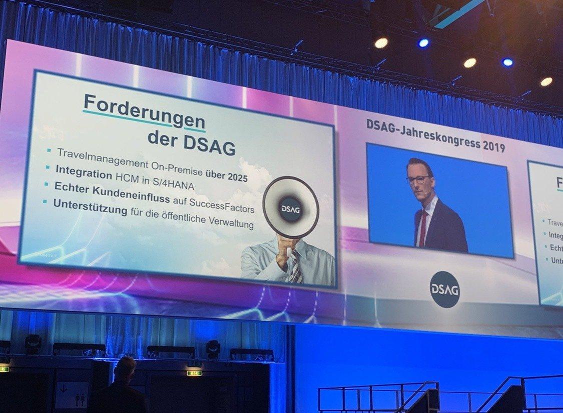 Forderung von Hermann-Josef Haag, Sprecher der DSAG Arbeitsgruppe Personalwesen