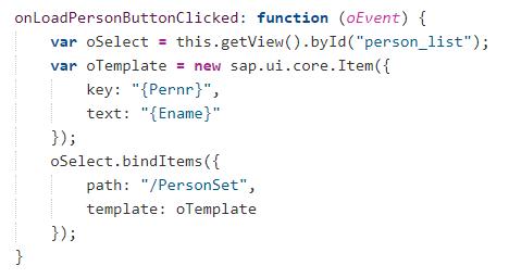 UI5 JS Templating