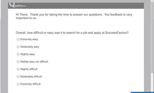 SuccessFactors Recruiting Update Q1 2020