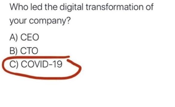 Digitalisierung durch Corona