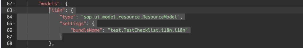 Model im Code Editor anlegen